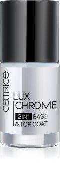 Catrice Luxchrome podkladový a vrchní lak na nehty