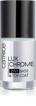 Catrice Luxchrome podkladový a vrchný lak na nechty