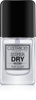 Catrice Super Dry Gloss lac de unghii/parte sus accelerator de uscare