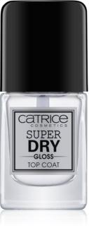 Catrice Super Dry Gloss vrchní lak na nehty urychlující schnutí