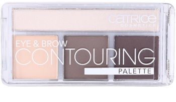 Catrice Eye & Brow palette contouring yeux et sourcils