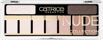 Catrice The Essential Nude Collection палітра тіней