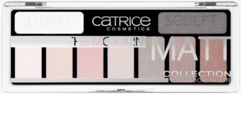 Catrice The Modern Matt Collection szemhéjfesték paletták