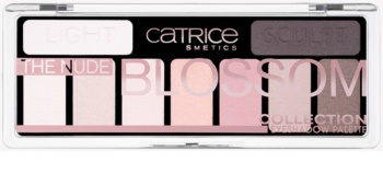 Catrice The Nude Blossom Collection Palette mit Lidschatten