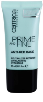Catrice Prime And Fine основа під макіяж проти почервнінь