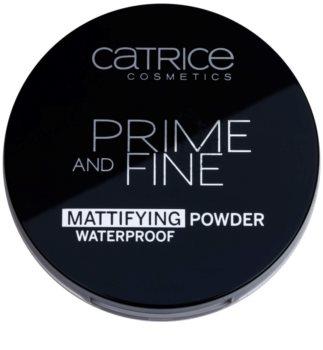 Catrice Prime And Fine матуюча пудра