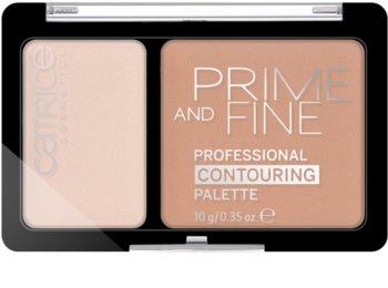 Catrice Prime And Fine Krémes highlight és kontúr paletta
