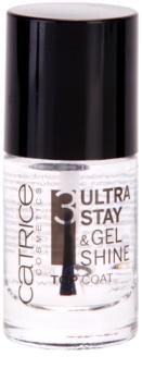 Catrice Ultra Stay & Gel Shine vrchní lak na nehty pro dokonalou ochranu a intenzivní lesk