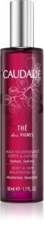 Caudalie Thé Des Vignes výživný olej na telo a vlasy