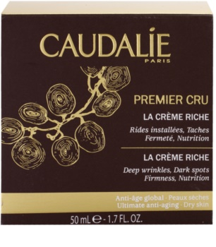 Caudalie Premier Cru feszesítő és tápláló krém a mély ráncokra