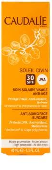 Caudalie Soleil Divin крем проти зморшок для засмаги SPF 30