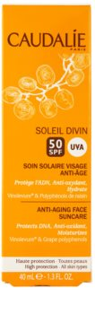 Caudalie Soleil Divin crema abbronzante antirughe SPF 50