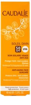 Caudalie Soleil Divin crema contur pentru bronzat SPF 50
