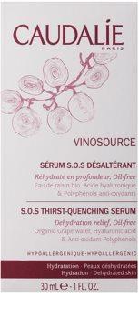 Caudalie Vinosource ser hidratant fata
