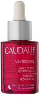 Caudalie Vinosource regenerierendes Serum für die Nacht für trockene bis sehr trockene Haut