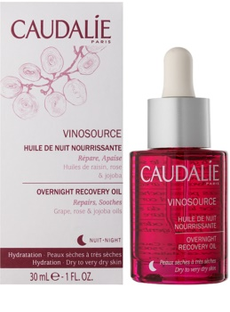 Caudalie Vinosource Regenerating Night Serum for Dry and Very Dry Skin
