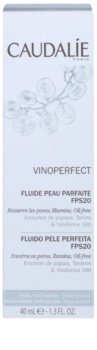 Caudalie Vinoperfect loción hidratante iluminadora para unificar el tono de la piel