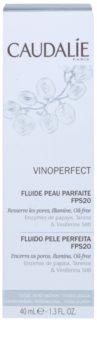 Caudalie Vinoperfect rozjasňující hydratační fluid pro sjednocení barevného tónu pleti