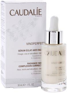 Caudalie Vinoperfect serum rozświetlające przeciw przebarwieniom skóry
