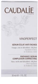 Caudalie Vinoperfect sérum iluminador contra problemas de pigmentación