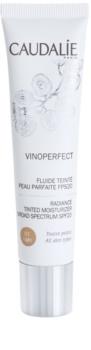 Caudalie Vinoperfect rozjasňujúci tónovací fluid s hydratačným účinkom