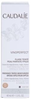 Caudalie Vinoperfect роз'яснюючий тонуючий флюїд зі зволожуючим ефектом