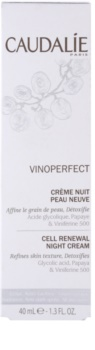 Caudalie Vinoperfect Illuminating Night Cream for Pigment Spots Correction