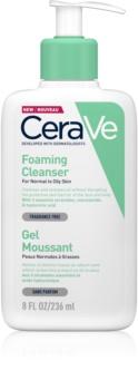 CeraVe Cleansers gel espumoso de limpeza para pele normal a oleosa
