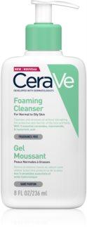 CeraVe Cleansers очищуючий пінистий гель для нормальної та жирної шкіри
