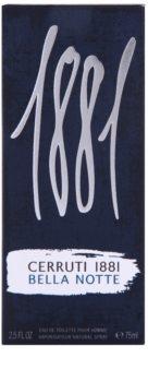 Cerruti 1881 Bella Notte toaletná voda pre mužov 75 ml