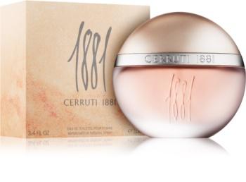 Cerruti 1881 pour Femme Eau de Toilette for Women 100 ml