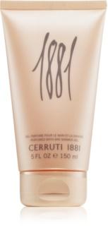 Cerruti 1881 pour Femme gel douche pour femme 150 ml