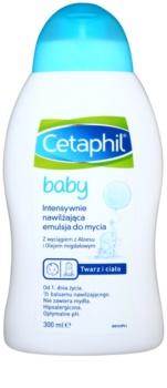 Cetaphil Baby emulsão de limpeza de hidratação intensa para bebés 0+