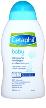Cetaphil Baby εντατικά ενυδατικό γαλάκτωμα πλυσίματος για παιδιά από τη γέννηση