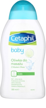 Cetaphil Baby masszázsolaj gyermekeknek születéstől kezdődően