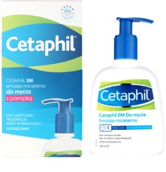 Cetaphil EM čistiaca micelárna emulzia s pumpičkou