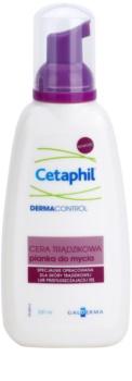 Cetaphil DermaControl tisztító hab az aknéra hajlamos zsíros bőrre