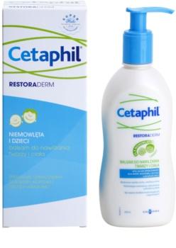 Cetaphil RestoraDerm зволожуючий бальзам для тіла та обличчя