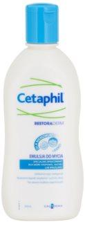 Cetaphil RestoraDerm emulsão de limpeza para bebés 0+