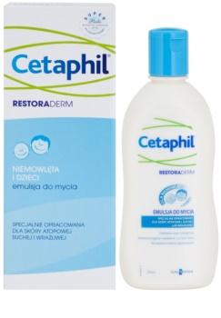Cetaphil RestoraDerm emulsión limpiadora para bebé lactante
