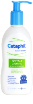 Cetaphil RestoraDerm creme corporal hidratante para pele irritada e com prurido