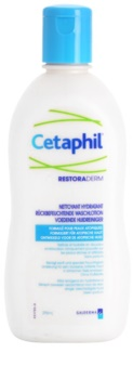 cetaphil restoraderm cr me de douche hydratante pour peaux irrit es avec d mangeaisons. Black Bedroom Furniture Sets. Home Design Ideas