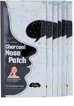 Cettua Charcoal tiras limpia poros para la nariz