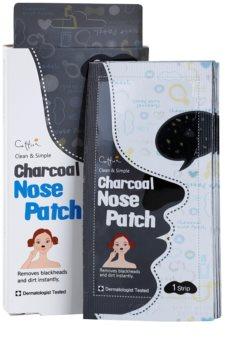 Cettua Charcoal почистваща лепенка за запушени пори по носа