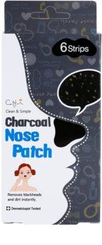 Cettua Charcoal Reinigungspflaster für verstopfte Poren auf der Nase