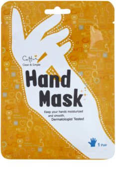 Cettua Clean & Simple tápláló maszk kézre