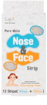 Cettua Pure White čisticí náplast na obličej