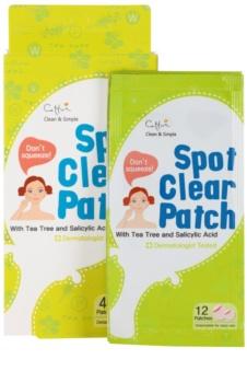 Cettua Spot Clear čisticí náplast pro lokální ošetření