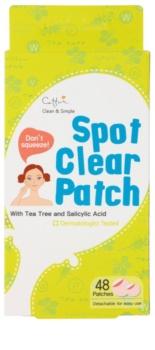 Cettua Spot Clear plasture de curatare pentru tratament local