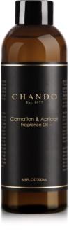 Chando Fragrance Oil Carnation & Apricot nadomestno polnilo za aroma difuzor 200 ml